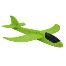 Gleitflieger/Flugzeug in blau, gelb, rot und grün, aus Styropor, 49,5 cm