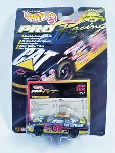 Hot Wheels Pro Racing 1:64 Scale #96 David Green Vintage 1997 Season Summary