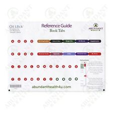 Reference Guide Index Tab Stickers for the LARGER book