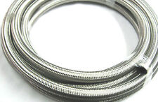 12 an Steel Braided Race Hose 30r9 ethanol E85 methanol diesel compatible 25 ft
