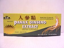 Royal King Red Panax Ginseng Extract 1 Box Of 30 Bottles Extra Strength 8000mg