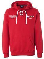 Donald Trump USA 2020 MAGA Hooded Pullover J. America 8830 Hoodie MAGA