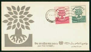 Mayfairstamps Pakistan 1960 World Refugee Year Tree Combo Cover wwp_64373