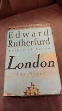 LONDON * EDWARD RUTHERFURD * 1ST/10TH CLEAN HC&DJ * SARUM *