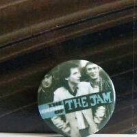 Rare Vintage Pin Metal Pinback 1980s  New Wave The Sound Of The Jam Hands Pocket