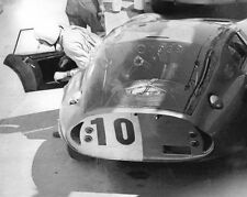 Vintage 8 X 10 Auto Racing Photo 1964 Sebring Cobra Daytona Coupe Bob Holbert