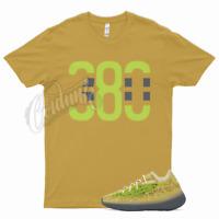 380 T Shirt match Yeezy 380 Hylyte Glow - ONYX CALCITE AZARETH Clay Israfil