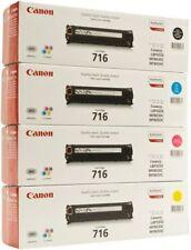 4 Original Toner CANON i-SENSYS MF8030Cn MF-8050Cn MF-8080Cw / 716 Cartridge SET