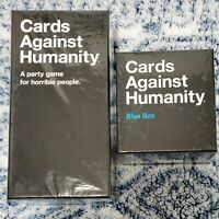 Cards Against Humanity Bundle: CAH Base Game+Blue Expansion Box: 900 Cards *NEW*