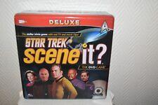 JEU AVEC DVD SCENE IT STAR TREK DELUXE COMPLET BOARD GAME 2009 NEUF