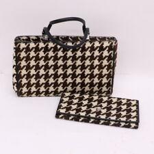 Vintage Gianni Versace Checkered Pony Print Purse & Wallet