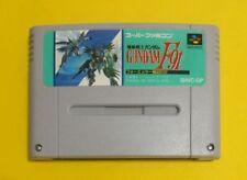 GUNDAM F91 Nintendo Super Famicom SNES SFC Japan import FREE Shipping USED