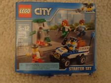 NEW Lego police Starter Set 60136 Building Toy Kit Factory DAMAGED BOX