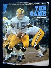 1963 THE GAME: THE OFFICIAL PICTURE HISTORY OF THE NFL BY TEX MAULE HC 1ST EDIT.