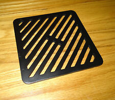 "12"" x 13"" Metal steel Gully Grate Grid Heavy Duty Drain Cover like cast iron"