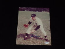 ED LOPAT SIGNED AUTOGRAPHED 8X10 PHOTO 1948-1955 YANKEES (d.1992) JSA CERTIFIED
