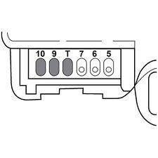 HVAC Heater Blend Door Actuator Upper/Left SANTECH STE MT18527