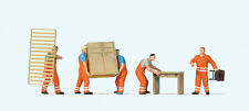 Preiser HO scale Furniture Movers/Delivery Men Item # 10714