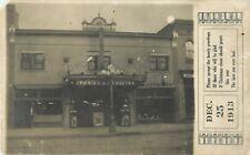 Waseca, Minnesota-Palace Theatre-Opera House 1913 RPPC Real Photo Postcard