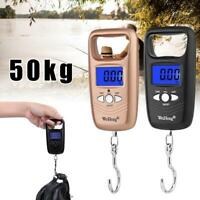 Portable Digital Weight Electronic Pocket Hanging Hook 50kg High-quality M6E7