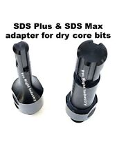Sds Max & Sds Plus adapter for dry core bits fits Hilti drills