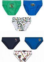 Boys Kids Children Lego Ninjago Super Mario Briefs Pants Underwear 3 Pack 4-10y