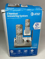 AT&T 2 HANDSET ANSWERING SYSTEM - SMART CALL BLOCKER DL72219 - FREE SHIPPING