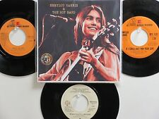 LOT OF 4 ' EMMYLOU HARRIS ' HIT 45's +1P(Copy)[Together Again]  THE 70's & 80's!