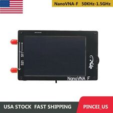 Nanovna F 50khz 15ghz Hf Vhf Uhf Vna Vector Network Analyzer Kit 43 Lcd Us