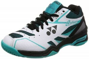Yonex Badminton Shoes Power Cushion 830 Mid SHB830MD White / Mint With Tracking