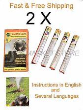 8x cartridge Smoke Mole Repellent 2 pack hot deal Professional moles mondo verde