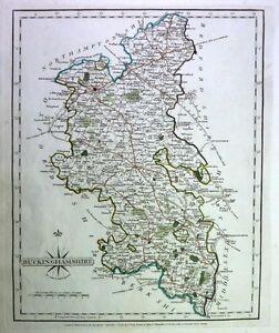 Antique map, Buckinghamshire ..
