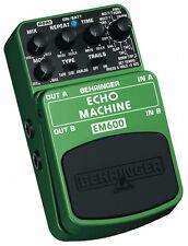 Máquina De Eco Behringer EM600 Pedal de efectos de modelado modelado de Sonido Real