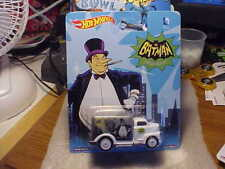 Hot Wheels Batman Penguin '49 Ford C.O.E. with Real Riders