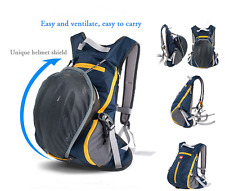 Riding Backpack Bicycle Cycling Sports Shoulder Bag For Camping + Helmet-Storage