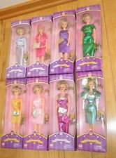 Princess DIANA Royal DOLL Set 8 NRFB Outfits Dresses Way Out Toys (Q793)