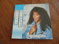 "DONNA SUMMER - LOVE'S ABOUT TO CHANGE MY HEART (3 TRACKS, 3"" CD SINGLE)"