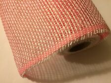 """WOVEN PAPER MESH ROLL PINK  21"""" X 15 FT FREE SHIPPING!!"""