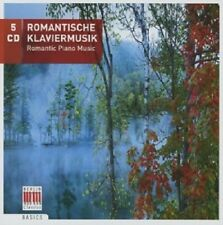 Romantique du piano musique 5 CD schubert/CHOPIN/LISZT/BRAHMS/Dvorak/GRIEG/+ NEUF