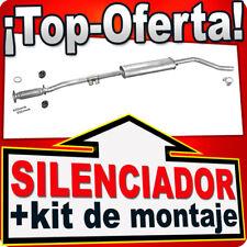 Silenciador Intermedio FIAT PUNTO II 1.2 80HP 1999-2006 Centro Escape PRC