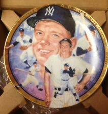 Mickey Mantle 1993 Hamilton Collection Plate Ny Yankees Usa Made New