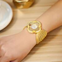 Fashion Lady Diamond Bracelet Watch Luxury Quartz Analog Wrist Watch Dress Gift