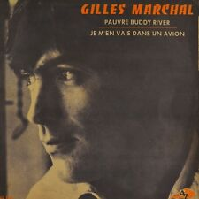 "7"" GILLES MARCHAL Pauvre Buddy River CV SHACKLEFORDS & PETER PAUL & MARY AZ 1969"