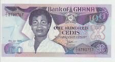 Ghana 100 Cedis 1986 Pick 26 UNC