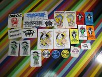 vtg 1980s Pushead/ Zorlac skateboard sticker - Double Cut Johnson Stanton Myhre+