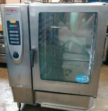 10 Pan Rational Combi Oven Steamer Convection Bakery Scc 102g Nat Gas