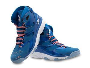 Shaquille O'Neal Autographed Shoes Reebok Shaq Attaq IV Blue Size 16.5 /10 UDA