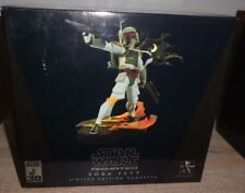 BOBA FETT Star Wars Animated LE 2586/7000 Gentle Giant Bust Maquette 2006 Statue