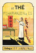 Vietnamese Tea Vintage Art Nouveau Food Advertising Giclee Canvas Print 20x29