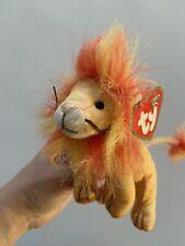 "VINTAGE Ty Beanie Baby ""BUSHY"" the LION Plush Toy"